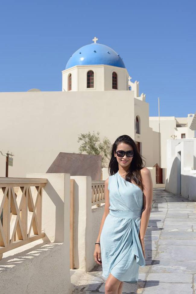Ngô Ý An vừa có chuyến du lịch tuyệt vời tại Oia, Santorini, Hy Lạp vào tháng trước. Người đẹp đăng tải những khoảnh khắc xinh đẹp tại đây và nhận được rất nhiều lời khen ngợi.