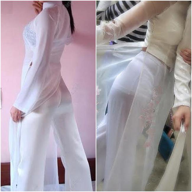 Liệu rằng khi ngắm những tà áo dài mỏng manh này, các du khách quốc tế sẽ nghĩ gì về trang phục truyền thống của người Việt.