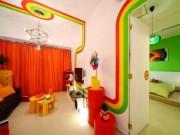 Nhà đẹp - Phòng ngủ cho bé yêu rực rỡ bảy sắc cầu vồng