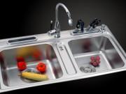 Bếp Eva - Làm sạch ống thoát nước bồn rửa bát cực dễ