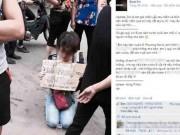 Tin tức - Sự thật về người phụ nữ quỳ gối xin được bán trà đá nuôi con