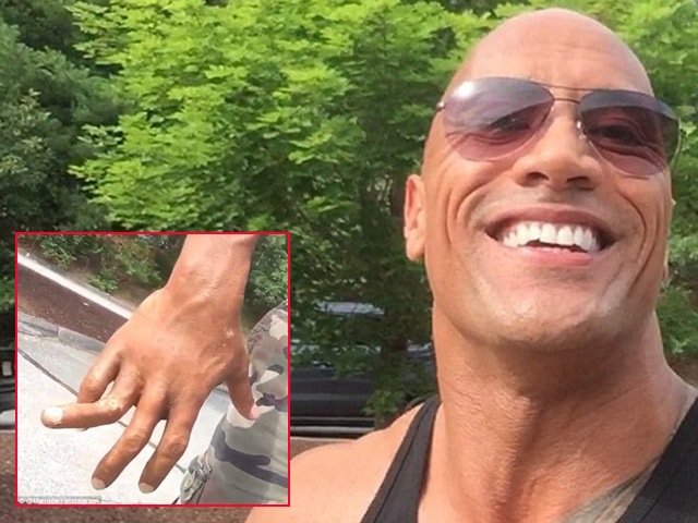 Fan bị dọa vì video sao Fast  Furious gãy tay
