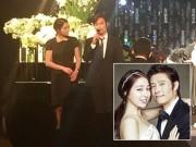 Vợ chồng Lee Byung Hun lần đầu cùng nhau đi đám cưới