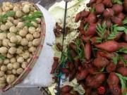 """Mua sắm - Giá cả - Dân sợ """"hàng Tàu"""", hoa quả Thái Lan tràn ngập HN"""