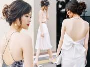 Thời trang - Chọn váy hở lưng để quyến rũ mà không trần tục!
