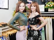 Andrea đọ dáng cùng siêu mẫu Khánh Ngọc