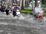 Tin tức - Bắc Bộ mưa to, khả năng ngập úng rất cao