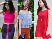 Thời trang - Tuần qua: Đã mắt ngắm thời trang màu sắc của sao Việt