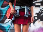 Thời trang - Tự chế váy kẻ ca rô tuyệt đẹp cho mùa Thu