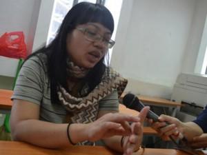 Cô giáo tự xưng cung Bọ Cạp phân trần với báo chí