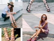 Hé lộ đôi sandal đang làm các cô gái Việt say đắm