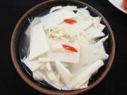 Bếp Eva - Tự làm măng muối chua đơn giản, không bị màng