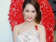 Làng sao - Thái Như Ngọc đẹp ngọt ngào với váy hàng hiệu