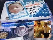 Làng sao - Khánh Thi - Phan Hiển tổ chức tiệc đầy tháng cho con