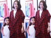 Làng sao - Mi Vân bất ngờ dẫn con gái đáng yêu đi dự sự kiện
