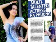 Làng sao - Em gái tỷ phú của Cẩm Ly được báo Mỹ khen ngợi