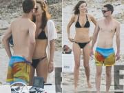"""Làng sao - Miranda Kerr vô tư """"khóa môi"""" bạn trai tỷ phú trên biển"""