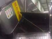 Tin tức - Thang cuốn TQ bất ngờ bật tung, hành khách chạy tán loạn