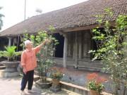 Nhà đẹp - Làng Phú Hữu sắp sạch bóng nhà cổ
