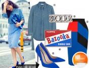 Thời trang - Đơn giản mà sành điệu bất ngờ áo sơ mi denim