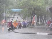 Tin tức - Bắc Bộ mưa dông diện rộng, trời mát mẻ
