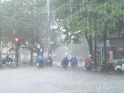 Tin tức - Cuối tuần Bắc Bộ có mưa to đến rất to, nguy cơ ngập úng