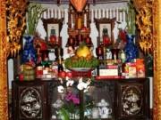 Nhà đẹp - Trật tự sắp đặt ban thờ gia tiên giúp mang lại tài lộc, may mắn