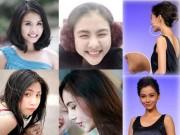 Làm đẹp - Những mỹ nhân Việt - Hoa 'dính' nghi án độn cằm quá đà