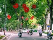 Tin tức - Sáng 2/9, thủ đô Hà Nội không mưa