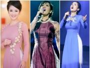 Thời trang - Mấy ai U50 mặc áo dài quyến rũ được như diva Hồng Nhung