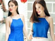Làng sao - Diễm Trang đẹp rạng ngời sau khi công khai chồng sắp cưới