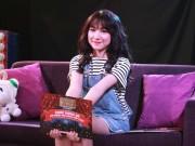 Làng sao - Hòa Minzy xuất hiện mới mẻ với mái tóc dài