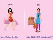 Sự thật về phụ nữ trước và sau khi kết hôn
