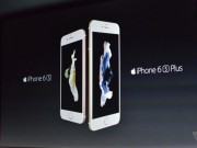 iPhone 6S trình làng với màn hình Force Touch, giá từ 4 triệu đồng