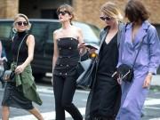 Thời trang - Tín đồ tuần lễ thời trang New York rộn rã đọ độ sành