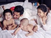 Oanh Yến lần đầu khoe người yêu bên cạnh hai con