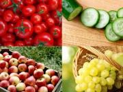 Làm mẹ - Top rau quả ăn dặm nhiều thuốc trừ sâu nhất