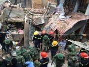Công bố nguyên nhân ban đầu vụ sập nhà 2 người chết ở HN