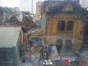 35 nhân viên thoát chết kỳ diệu trong vụ sập nhà cổ