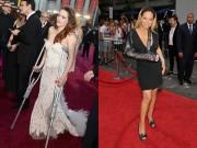 Làng sao - Sao Hollywood đeo nạng đến thảm đỏ vì chấn thương