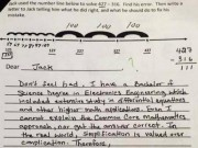 Tin tức - Bài toán khó lớp 3 và màn đáp trả hài hước của ông bố