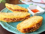 Bếp Eva - Đổi vị với khoai tây kẹp thịt chiên giòn