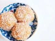 Bếp Eva - Bánh nếp bí đỏ lăn dừa đơn giản, dễ làm