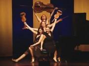 """Clip Eva - Sướng tai với 4 cô gái """"đấu"""" violon, piano"""