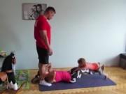 Clip Eva - Bài tập thể dục đơn giản cho cả gia đình