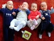 Bà bầu - Gặp lại ca sinh 4 đáng yêu của mẹ U70 từng khiến cả thế giới 'choáng váng'