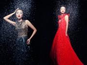 Thời trang - Em gái Trang Khiếu làm người mẫu không thua kém chị