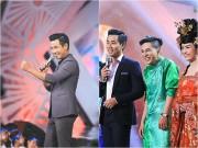 Làng sao - MC Nguyên Khang tự tin trổ tài ăn nói trước Lại Văn Sâm
