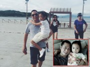 Làng sao - Bắt gặp vợ chồng Triệu Vy diện đồ đôi giản dị đưa con gái đi chơi