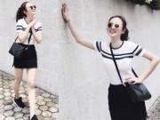 Thời trang - Chán quyến rũ Angela Phương Trinh lại về với style gái ngoan
